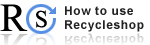 RS How to use RecycleShop logo�摜